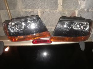 Jeep wj headlights. Aftermarket. for Sale in Cherry Hill, NJ