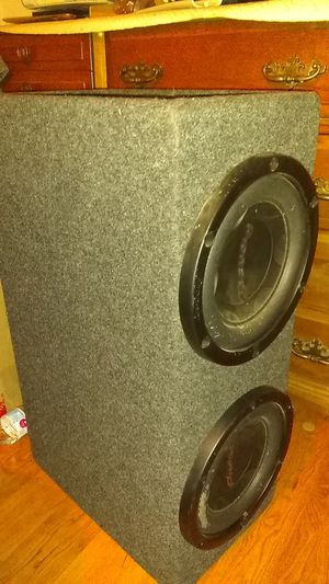 2× pioneer 800w compatitions with box. Really loud!!! for Sale in Torrance, CA