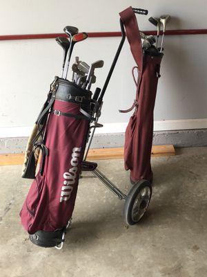 Assorted golf clubs for Sale in Woodbridge, VA