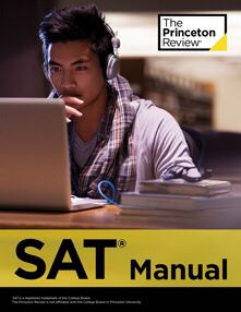 SAT manual Princeton Review book for Sale in Fayetteville, AR