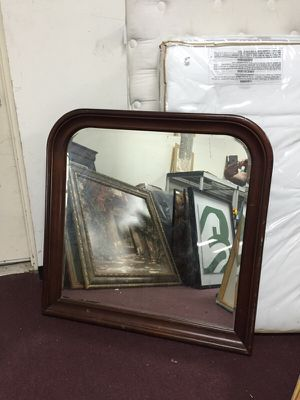 "40"" X 40"" Wood Framed Mirror for Sale in Manassas, VA"