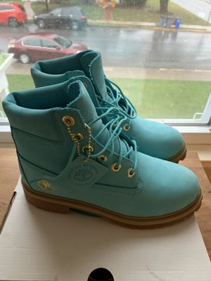 """""""Baby Blue"""" Exclusive Released Timberlands for Sale in Emmaus, PA"""