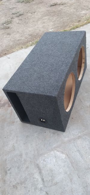 2 12s ported box for Sale in Tracy, CA