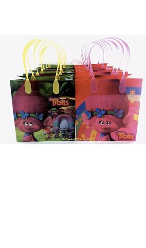 Trolls candy bags for Sale in Costa Mesa, CA