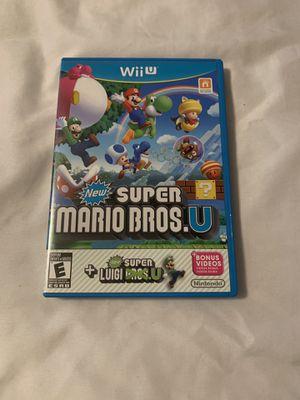 Super Mario Bros with Luigi Wii U for Sale in Los Angeles, CA