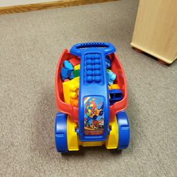 Mega Bloks Fill & Dump Wagon With Bag Of Builder Blocks for Sale in Bloomington,  IL