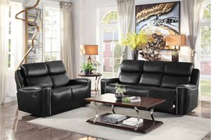 New 2pc set reclining sofa and loveseat tax included free delivery for Sale in Hayward, CA