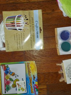 ART SUPPLIES CANVASAS CHALK KID ACTIVITIES for Sale in Washington,  DC
