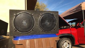 """12"""" Jensen subs with box for Sale in Apache Junction, AZ"""