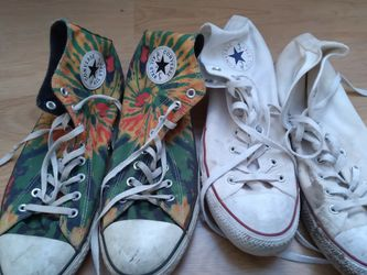 Size 12 Men's Converse Used for Sale in Choctaw,  OK