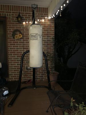 Punching bag and stand for Sale in Chattanooga, TN