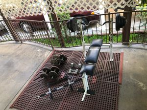 Bench press weights for Sale in Anaheim, CA