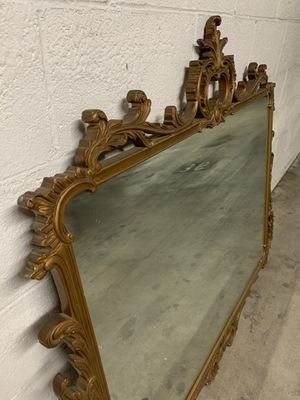 Antique Gold Ornate Detail Mirror for Sale in West Hollywood, CA