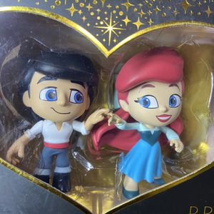 Funko Disney the little mermaid Princess Mini Vinyl Figure Little Mermaid Eric Ariel Romance Series for Sale in Long Beach, CA