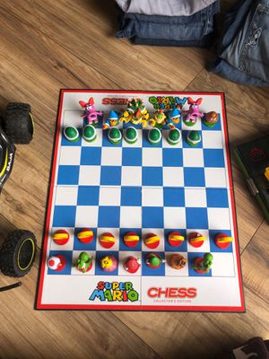 Super Mario chess board for Sale in Dallas, TX