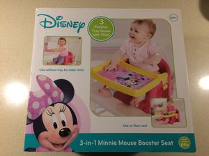 Disney 3-in-1 Minnie Mouse Booster Seat for Sale in Battle Ground, WA
