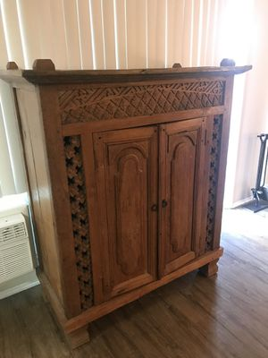 Solid Wood Cabinet for Sale in Costa Mesa, CA