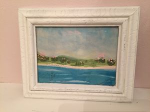 Framed watercolor painting 9 x 11 for Sale in White Plains, NY