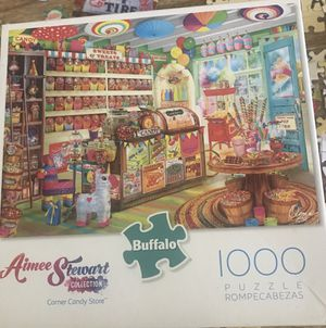1000 piece Puzzle ~ Buffalo Games Gourmet Candy Store for Sale in La Mesa, CA