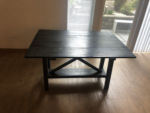Grey wooden collapsible table! Cute for dining or entryway for Sale in Seattle, WA