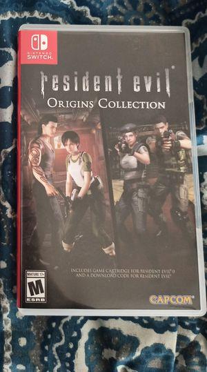 Nintendo Switch Resident Evil for Sale in San Bernardino, CA