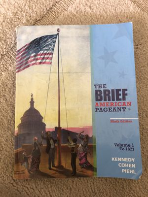 The Brief American Pageant 9th edition! for Sale in Port St. Lucie, FL