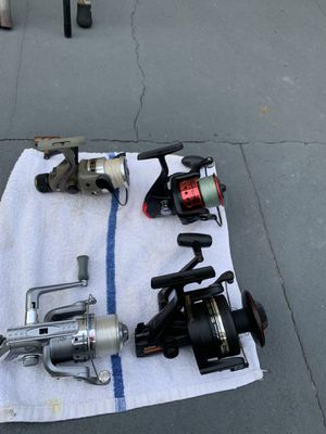 Daiwa, Abu and multiple reel for Sale in South San Francisco, CA