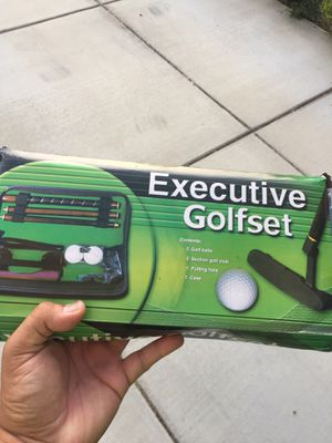 Executive golfset (new in box) for Sale in Brea, CA