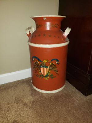 Painted Milk Can for Sale in Stephens City, VA
