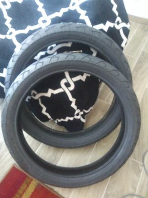 "21"" inch motorcycle tires.. black walls... Brand new for Sale in Albuquerque, NM"