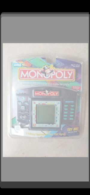 ELECTRONIC MONOPOLY GAME NEW for Sale in Delray Beach, FL