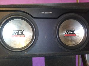 MTX COMPETITION 12s for Sale in Scott Depot, WV