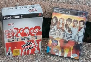 New SING IT PlayStation 2 take both for Sale in Alhambra, CA