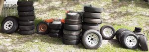 Spare Tire Trailer Wheels or Rims for Sale in Jacksonville, FL