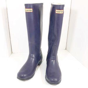 Hunter Rain boots Plum Purple for Sale in Miami, FL
