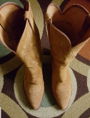 Lucchese suede boots for Sale in Irving, TX