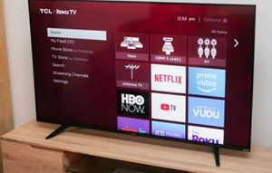 """TCL - 65"""" Class 4K UHD Smart TV with HDR Roku TV for Sale in McAllen, TX"""