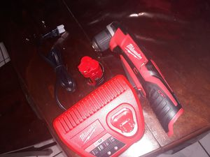 Milwaukee m12 right angle drill for Sale in San Antonio, TX