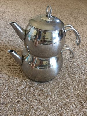 Stainless steel Tea Pot for Sale in Columbus, OH