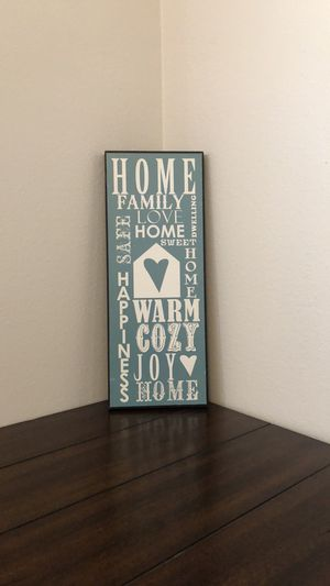 Home Decor Sign for Sale in Moscow, ID