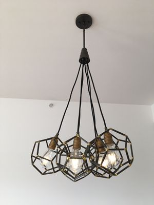 Chandelier and mini pendant lights for Sale in Seattle, WA