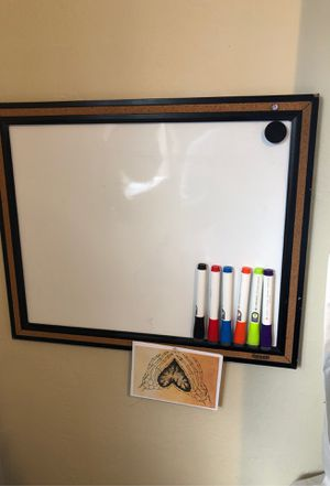 White board with Markers for Sale in Richmond, CA