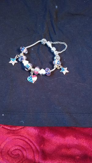 Patriotic European charm bracelet for Sale in South Salt Lake, UT