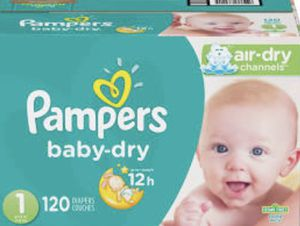 Pampers brand diapers and wipes sizes 1&2. All brand new in original packaging for Sale in Raleigh, NC