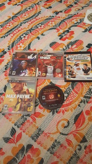 PS3 GAMES for Sale in Alexandria, VA