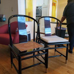 Henredon Ebony Chairs for Sale in Detroit, MI