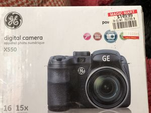 GE digital camera x 550 for Sale in Plant City, FL