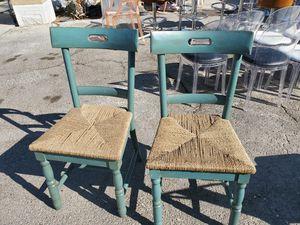 Wooden & Wicker Chairs for Sale in Las Vegas, NV