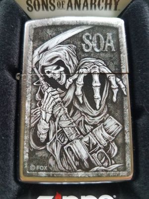 Zippo son of anarchy street chrome 49004 for Sale in Los Angeles, CA