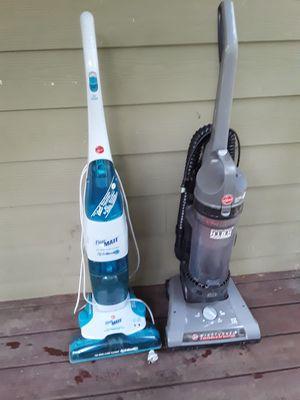 Hoover rewind vacuum bagless +hardwood cleaner for Sale in Atlanta, GA